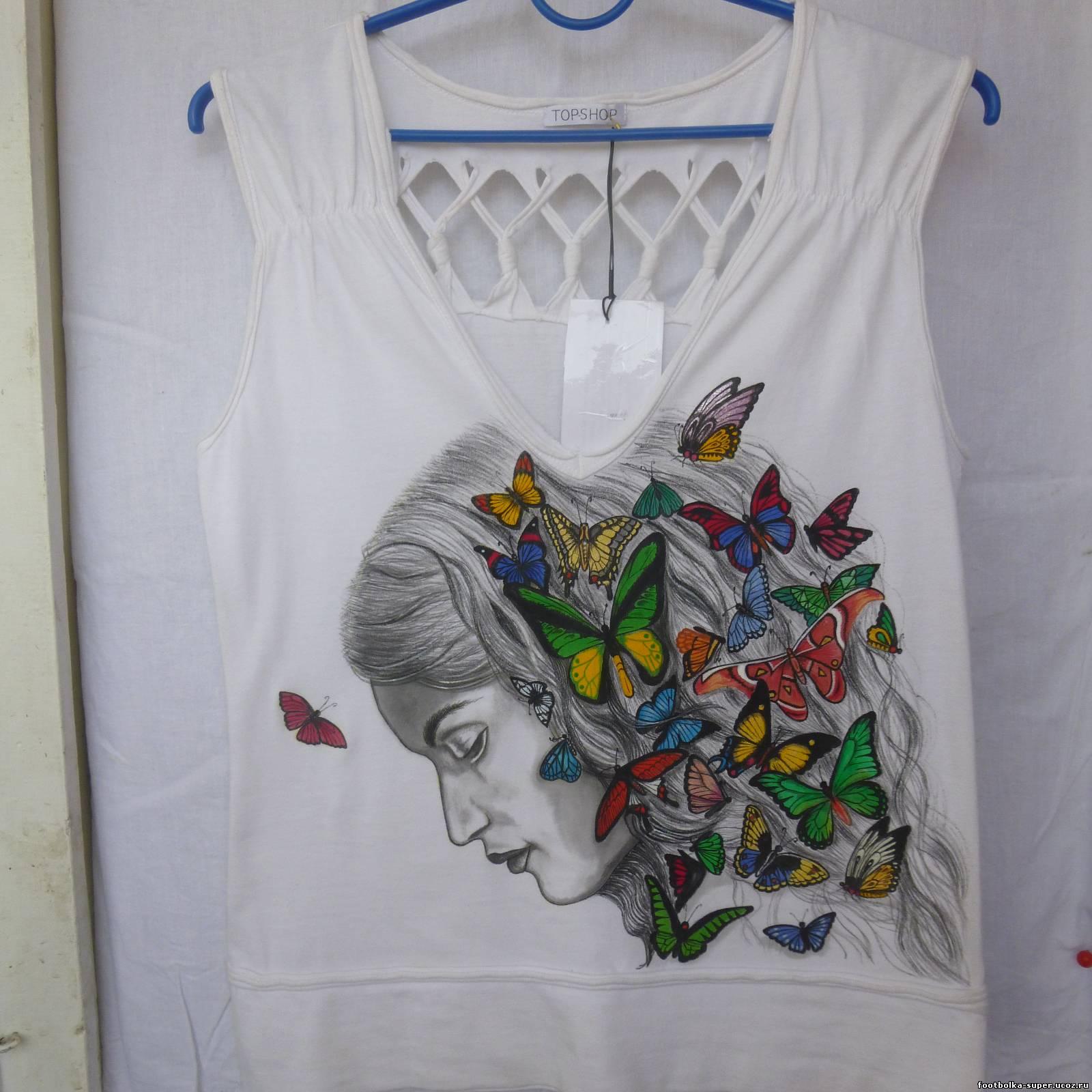 Рисунки на футболках своими руками (86 фото как сделать принт) 90